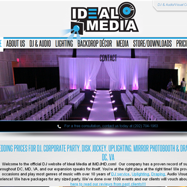 Ideal Media wedding vendor preview