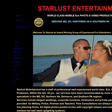 Starlust Entertainment wedding vendor preview