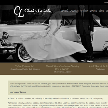 Chris Laich wedding vendor preview