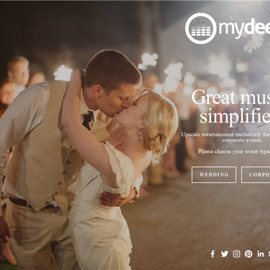 MyDeejay wedding vendor preview