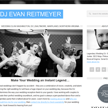 Dj Evan Reitmeyer wedding vendor preview