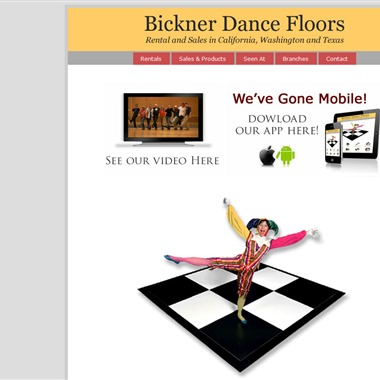 Bickner Dance Floors wedding vendor preview