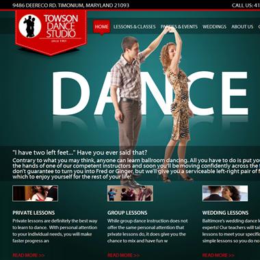 Towson Dance Studio wedding vendor preview