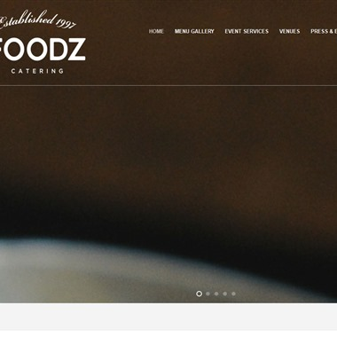 Foodz Catering wedding vendor preview