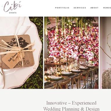 Cbi Events wedding vendor preview
