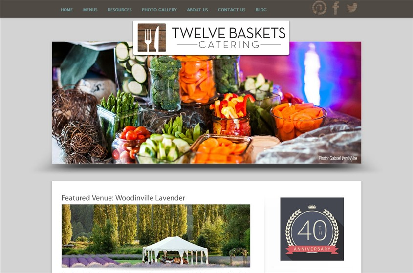 Twelve Baskets Catering wedding vendor photo