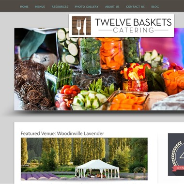 Twelve Baskets Catering wedding vendor preview