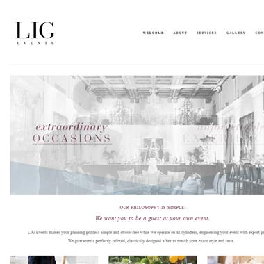 Lig Events wedding vendor preview