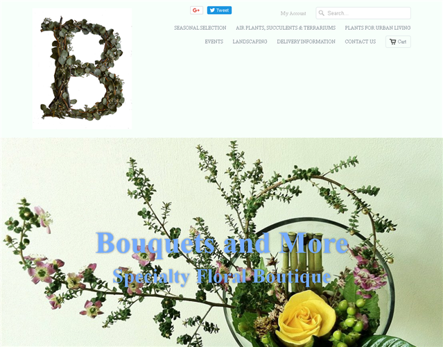 Bouquets and More Florist wedding vendor photo