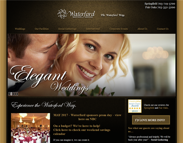 Waterford Receptions wedding vendor photo