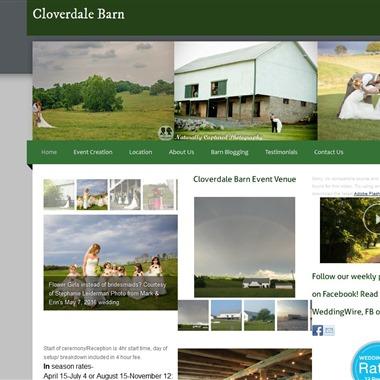 Cloverdale Barn wedding vendor preview