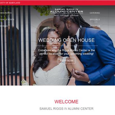 Samuel Riggs IV Alumni Center wedding vendor preview