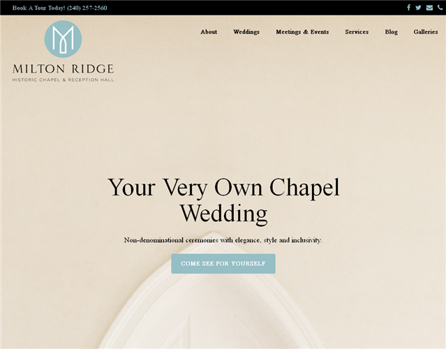 Milton Ridge wedding vendor photo