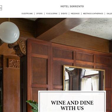 Sorrento Hotel Seattle wedding vendor preview