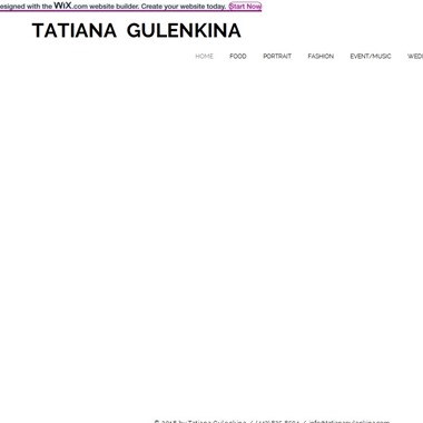 Tatiana Gulenkina Photography wedding vendor preview