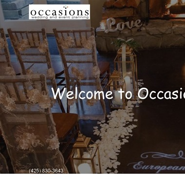 Occasions, LLC wedding vendor preview