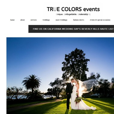 True Colors Events wedding vendor preview