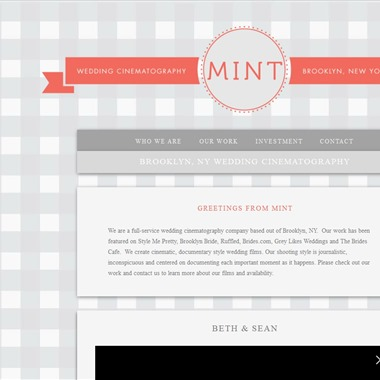 Mint Wedding Cinematography wedding vendor preview