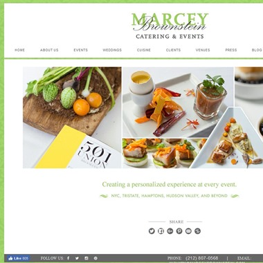 Marcey Brownstein Catering  wedding vendor preview
