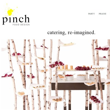 Pinch Food Design wedding vendor preview