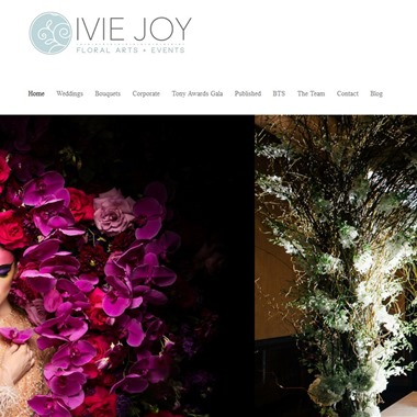 Ivie Joy Floral Arts & Events wedding vendor preview