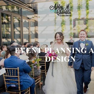 Ashley M Chamblin Events wedding vendor preview