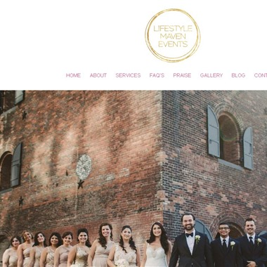 Lifestyle Maven Events wedding vendor preview