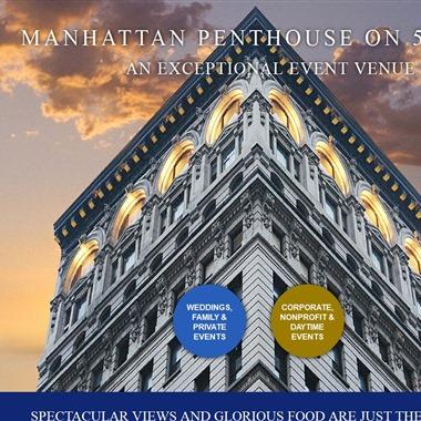 Manhattan Penthouse wedding vendor preview