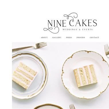 Nine Cakes wedding vendor preview