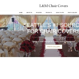 L&M chair covers photo