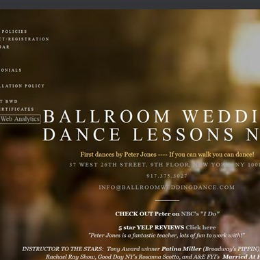 Ballroom Wedding Dance wedding vendor preview