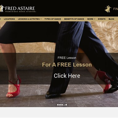 Fred Astaire Dance Studio wedding vendor preview