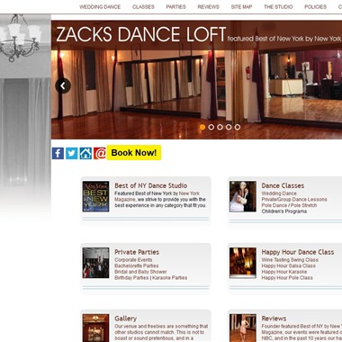 Zacks Dance Loft wedding vendor preview