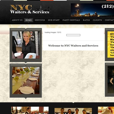 NYC Waiters And Services wedding vendor preview