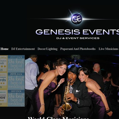 Genesis Events wedding vendor preview