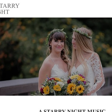 A Starry Night Music wedding vendor preview