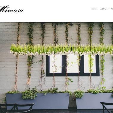 Mimosa Floral wedding vendor preview