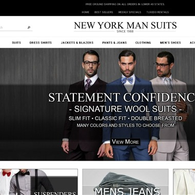 New York Man Suits wedding vendor preview