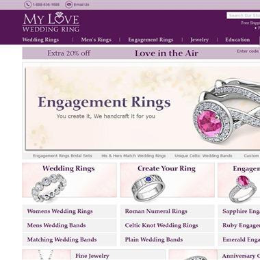 My Love Wedding Ring wedding vendor preview