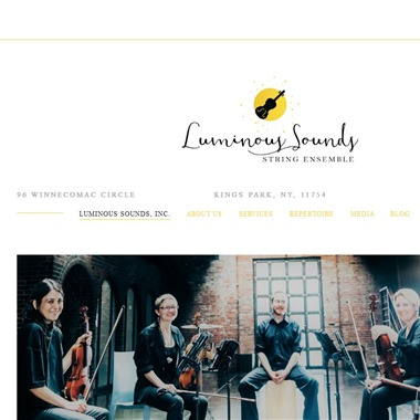 Luminous Sound wedding vendor preview