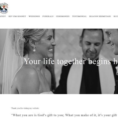 Rev. Jim Rooney wedding vendor preview
