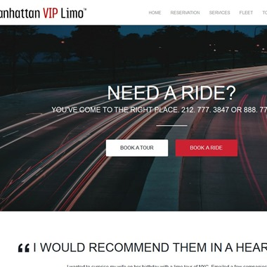 Manhattan VIP Limo wedding vendor preview