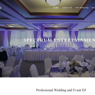 Spectrum Entertainment wedding vendor preview