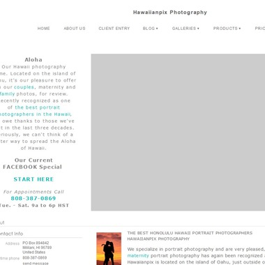 Hawaiianpix Photography wedding vendor preview