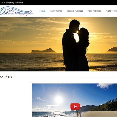 Oahu Hawaii Photographer wedding vendor preview