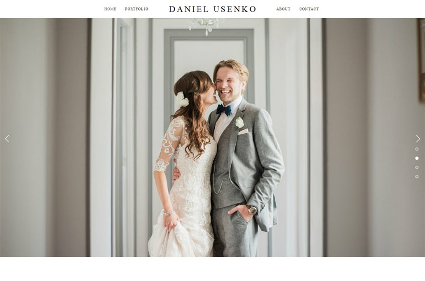 Daniel Usenko Photography wedding vendor photo