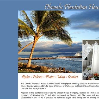 Olowalu Plantation House wedding vendor preview