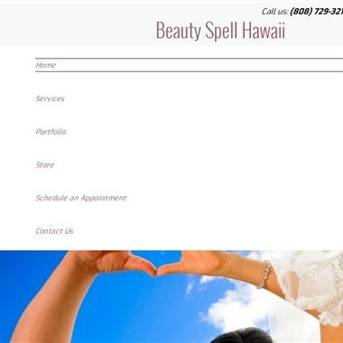Beauty Spell Hawaii wedding vendor preview