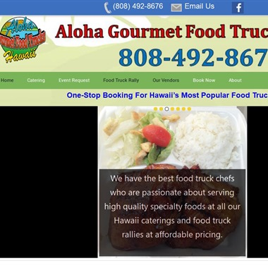 Aloha Gourmet Food Trucks Hawaii wedding vendor preview