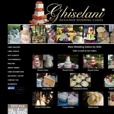 Ghiselani Designer Wedding Cakes wedding vendor preview